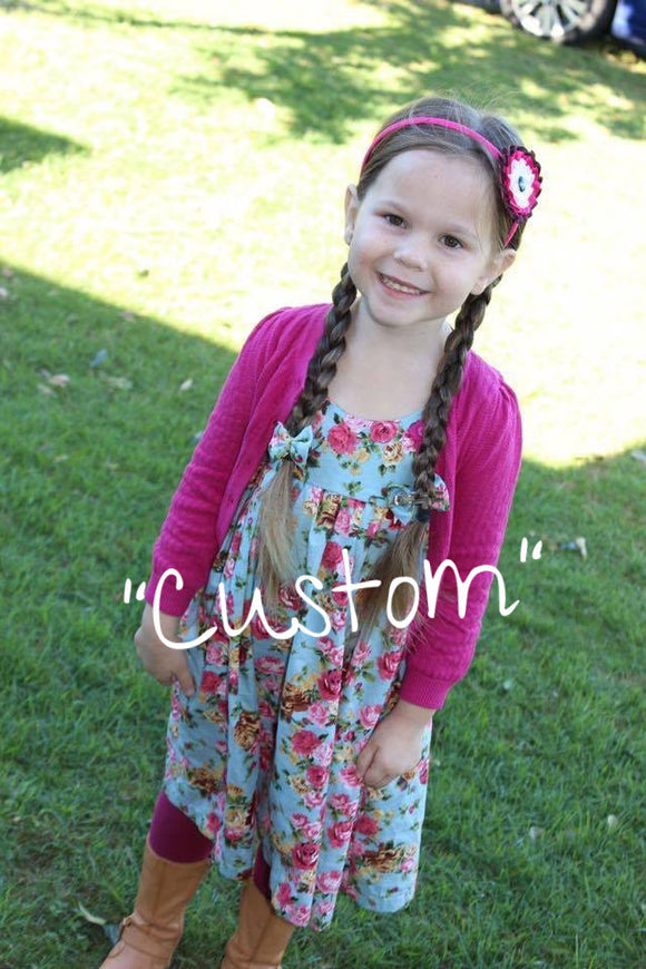 Custom - Fairy Dress - Mini Maddy Moo's