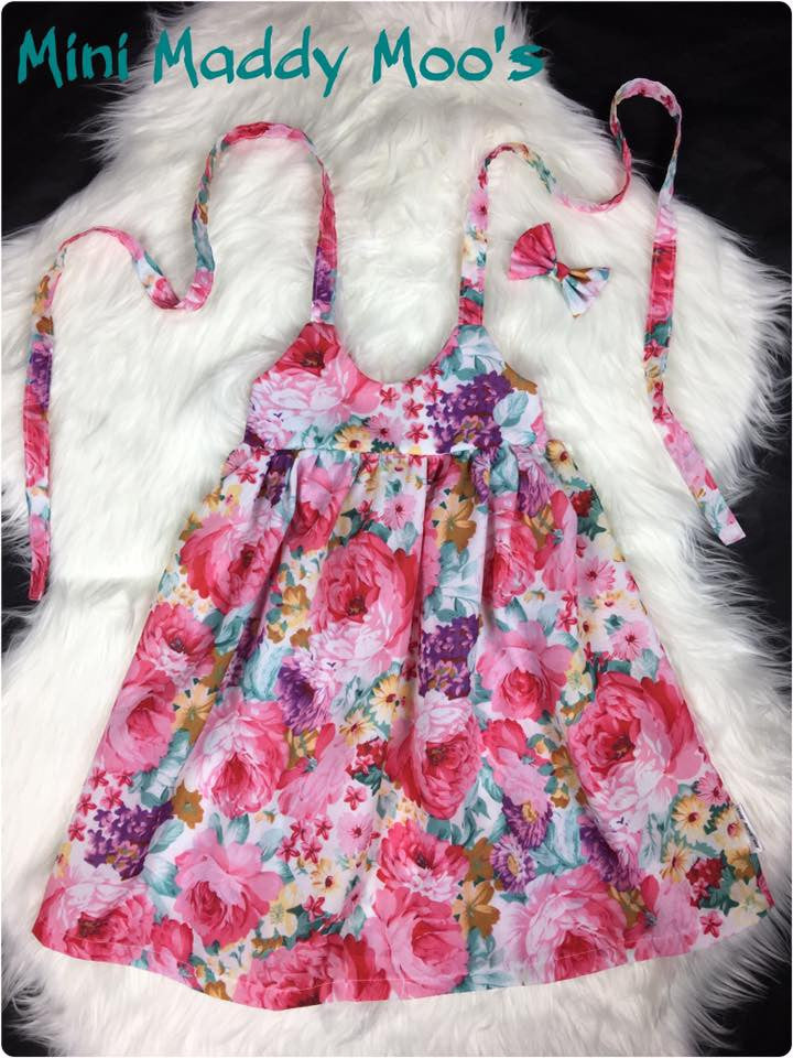 Marley Rose Fairy Dress - Mini Maddy Moo's