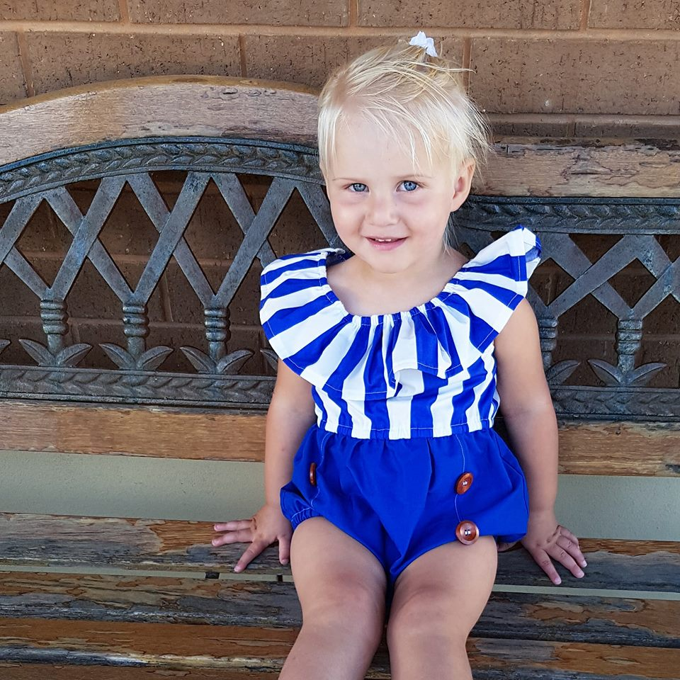Sailor Monroe Playsuit - Mini Maddy Moo's