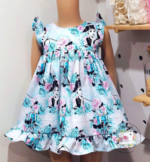 Custom - Be Curious Dress - Mini Maddy Moo's