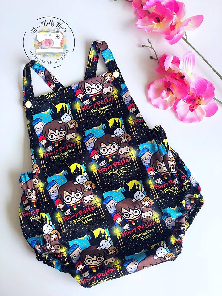 Harry Potter C'est la vie Vintage Romper - Mini Maddy Moo's