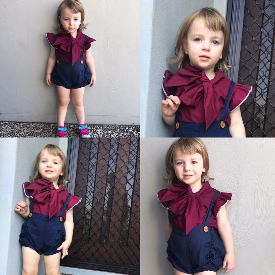 Custom - Harlow Blouse - Mini Maddy Moo's