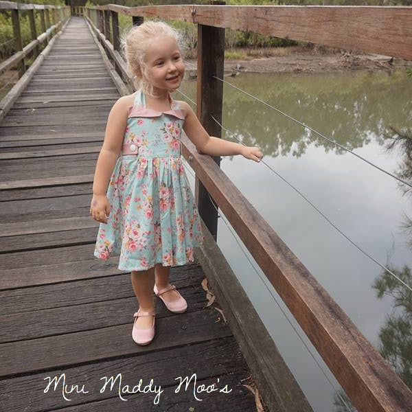 LOVE Ginger Dress - Mini Maddy Moo's