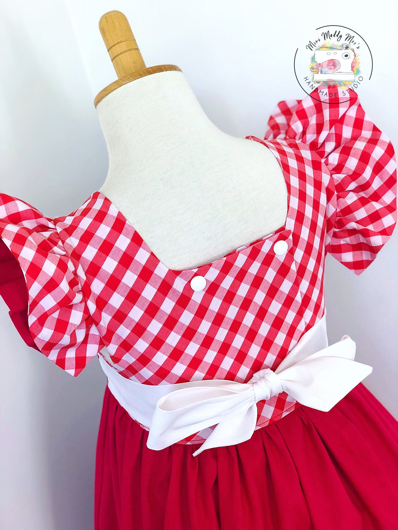 Custom - Isobel Pinafore - Mini Maddy Moo's