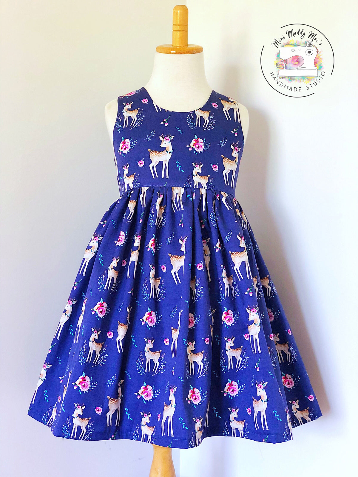 Custom Easter Tea Party Dress - Mini Maddy Moo's