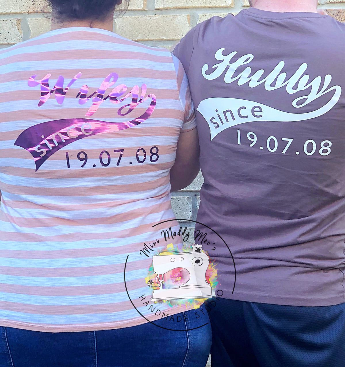 Adult Personalised Tee - Mini Maddy Moo's