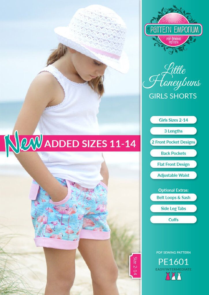 Custom - Honeybun Shorts - Mini Maddy Moo's