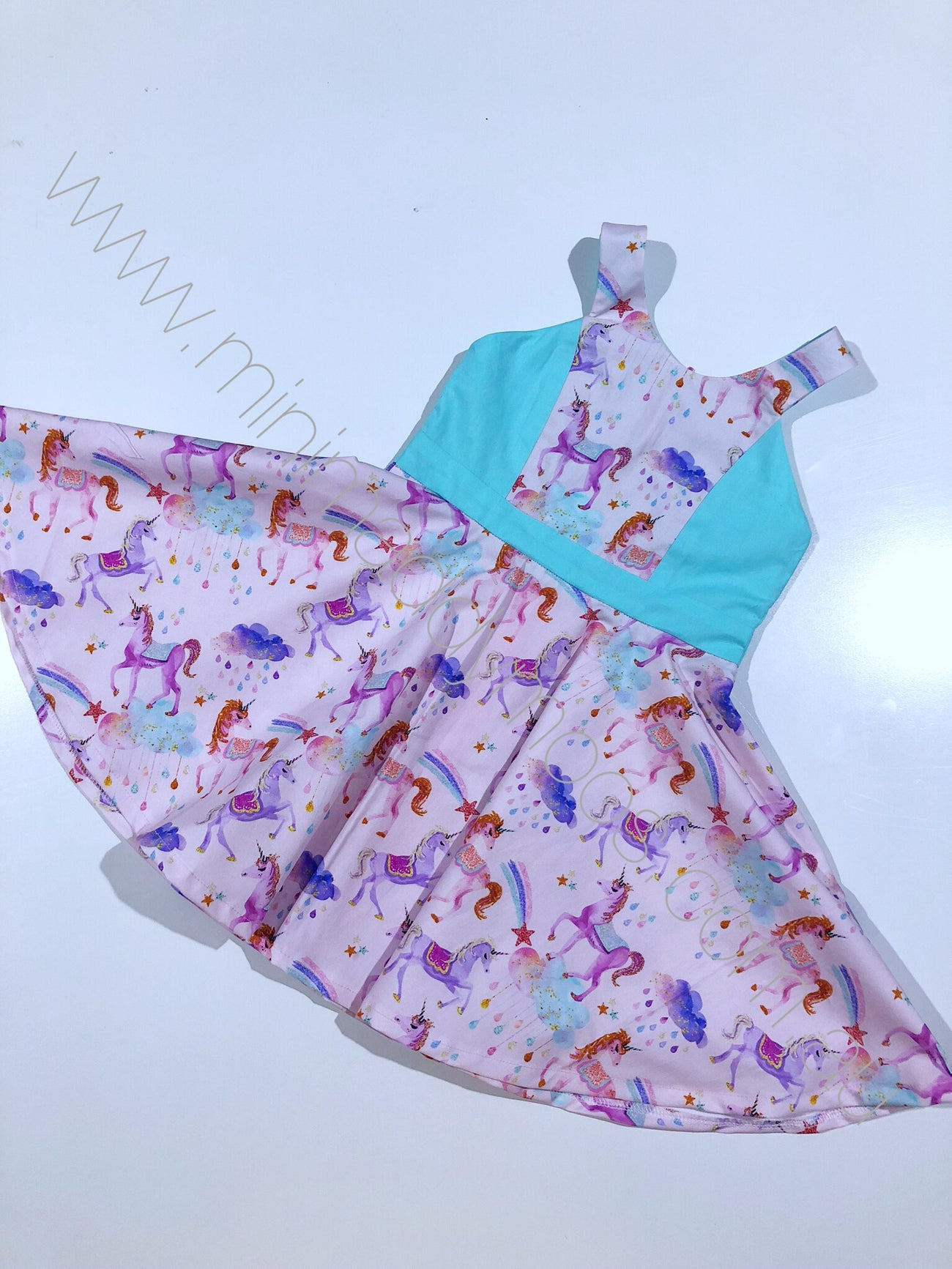 Custom - Holly Dress - Mini Maddy Moo's
