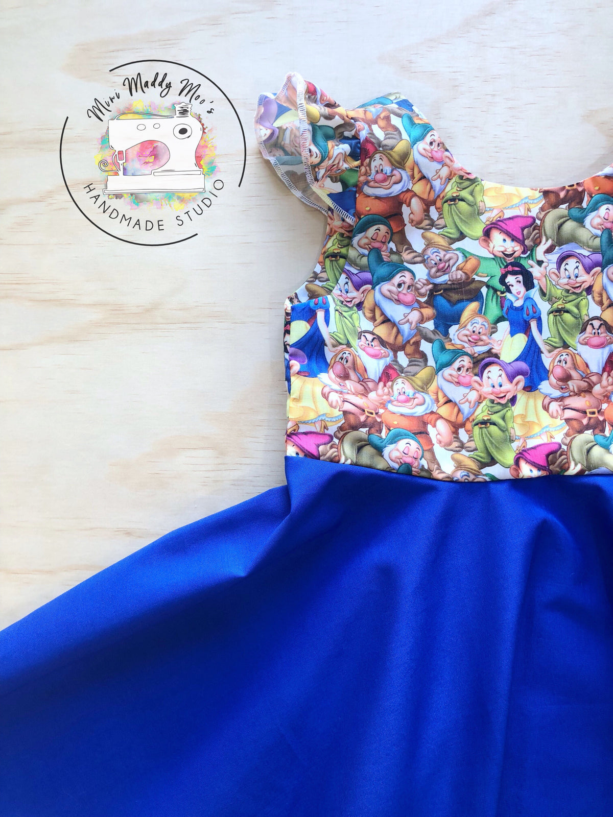 Snow White Flutter Peplum Top or Dress - Mini Maddy Moo's