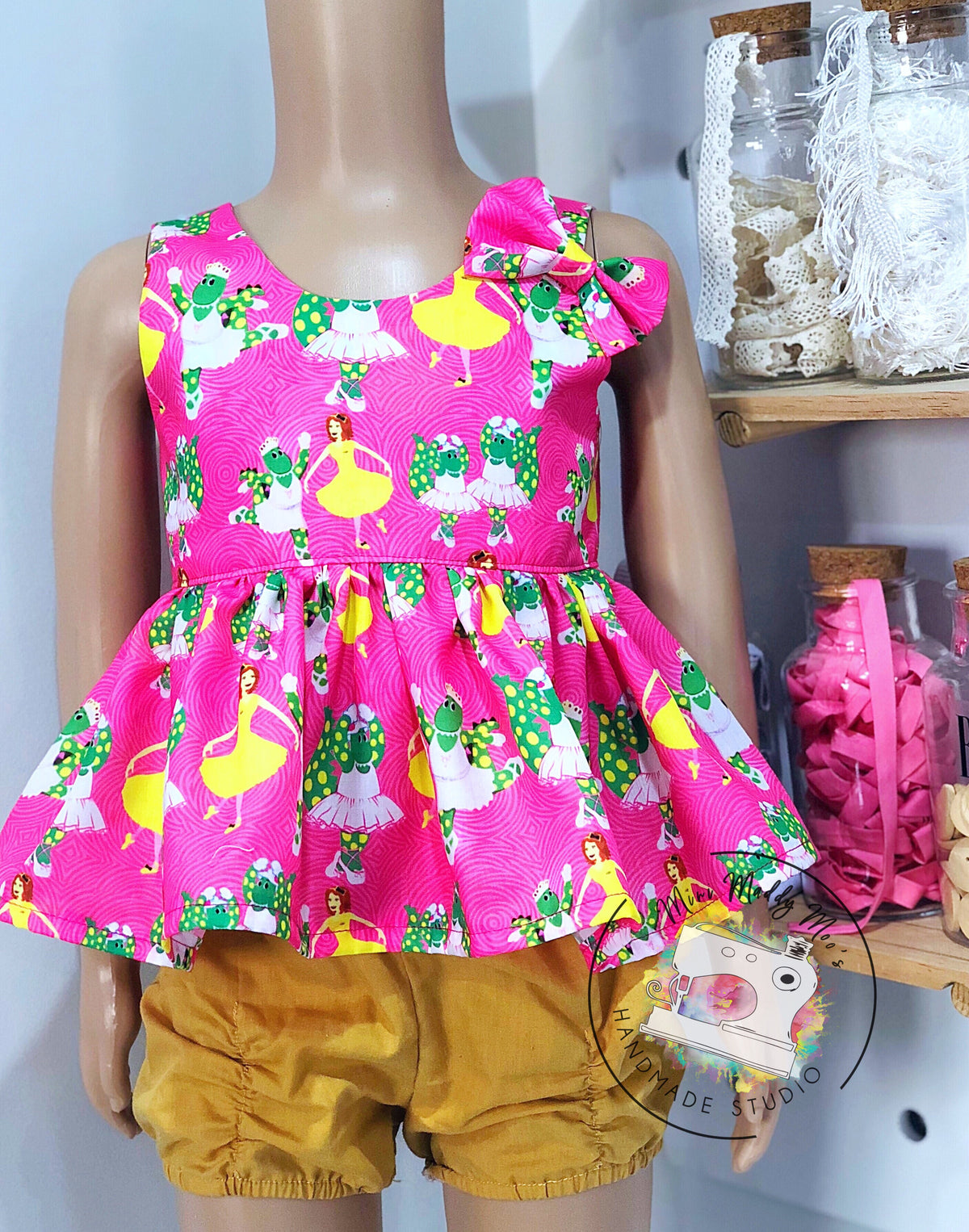 Emma & Dorothy Tea Party Dress or Top - Mini Maddy Moo's