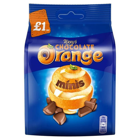 Terry's Choc Orange Minis 95g Bulk
