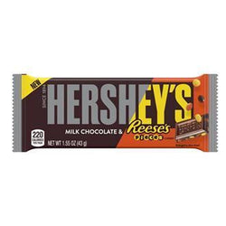 HERSHEY REESES PIECES BAR 43G