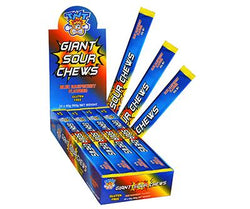 TNT Giant Sour Chew Blue Raspberry Bulk