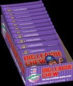 BIG LEAGUE CHEW GRAPE BOX