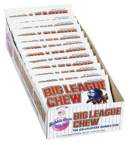 BIG LEAGUE CHEW ORIGINAL BOX