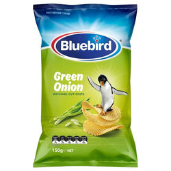 BLUEBIRDS GREEN ONION CHIPS BOX