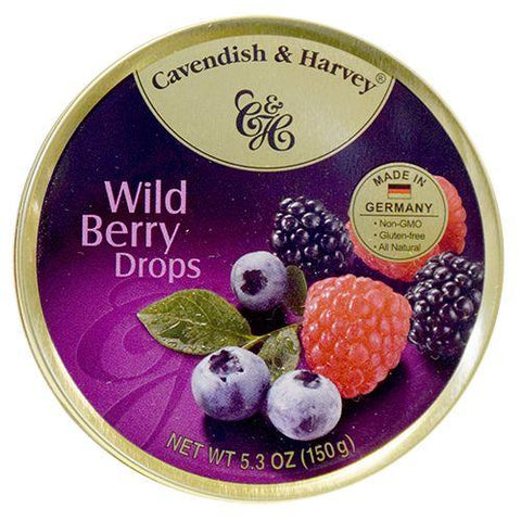 CAVENDISH WILD BERRY DROPS TIN
