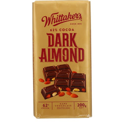 WHITTAKERS DARK ALMOND BLOCK