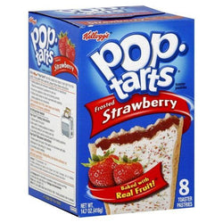 POPTARTS STRAWBERRY FROSTED
