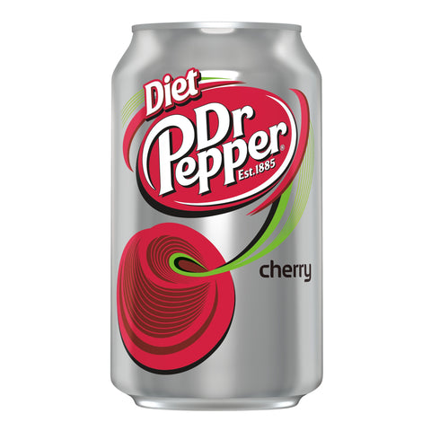 DR PEPPER CHERRY DIET CAN