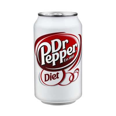 DR PEPPER DIET CAN