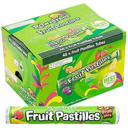 FRUIT PASTILLE TUBES BOX