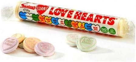 GIANT LOVE HEART ROLLS