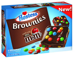 HOSTESS M&M BROWNIE BOX