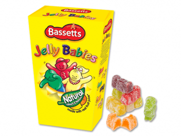 Jelly Babies Taper Box Bulk