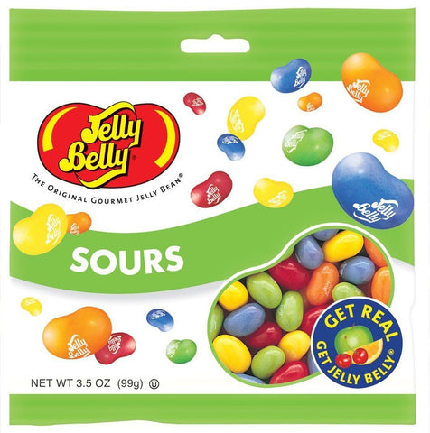 JELLY BELLY SOURS 99G