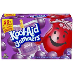 KOOL AID JAMMERS GRAPE BOX