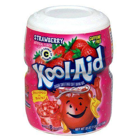 KOOL AID STRAWBERRY TUB