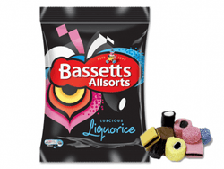 LICORICE ALLSORTS 165G BAGS