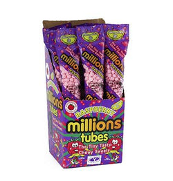 MILLIONS TUBES BLACKCURRANT BOX