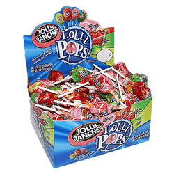 JOLLY RANCHER LOLLIPOPS BOX