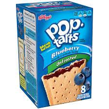 POPTARTS BLUEBERRY UNFROSTED