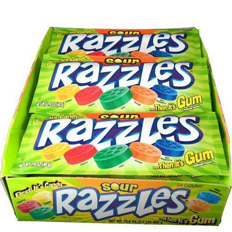 RAZZLES SOUR BOX