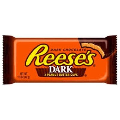 REESES PEANUT BUTTER CUPS DARK