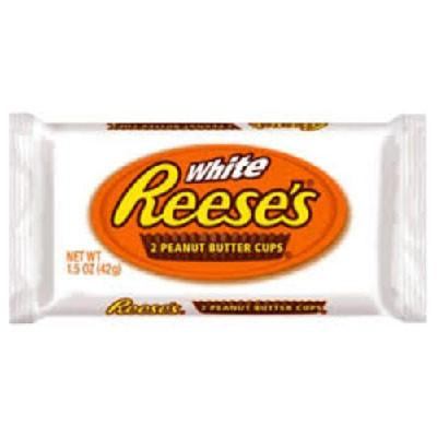 REESES PEANUT BUTTER CUPS WHITE
