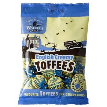 Walkers English Creamy Toffees Hangsell 150g