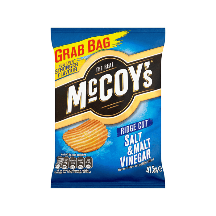 McCoys Salt & Malt Vinegar 47g