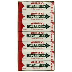 WRIGLEY SPEARMINT BOX