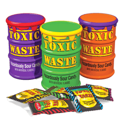 Toxic Waste Hazardously Sour Drum