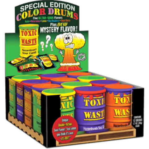 TOXIC WASTE DRUM BOX