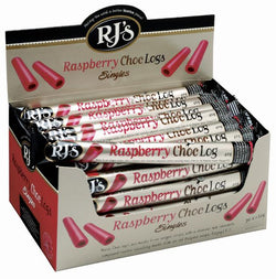 RJ RASPBERRY CHOC LOGS BOX