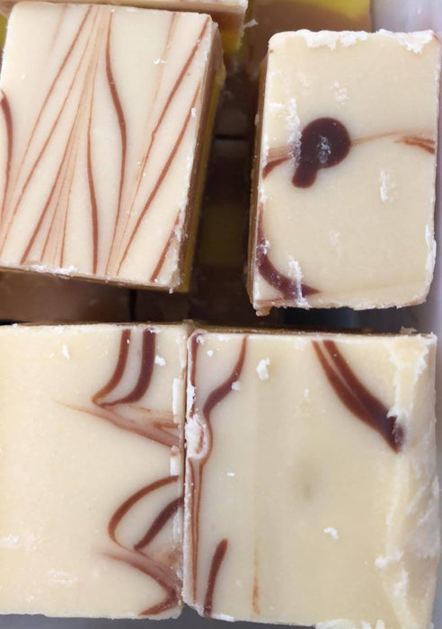 VANILLA SLICE FUDGE & CUSTARD NOUGAT
