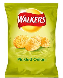 WALKERS PICKLED ONION BOX