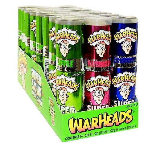 WARHEAD SOUR SPRAY BOX