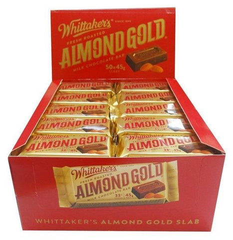 WHITTAKER'S ALMOND GOLD SLAB BULK