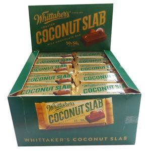 WHITTAKER'S COCONUT SLAB BULK